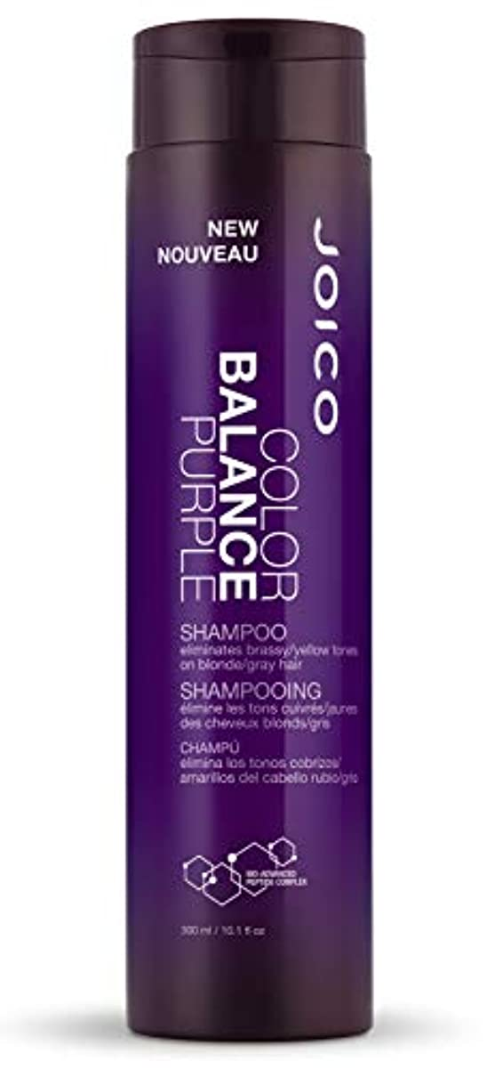 北方消防士ケントジョイコ Color Balance Purple Shampoo (Eliminates Brassy/Yellow Tones on Blonde/Gray Hair) 300ml/10.1oz並行輸入品