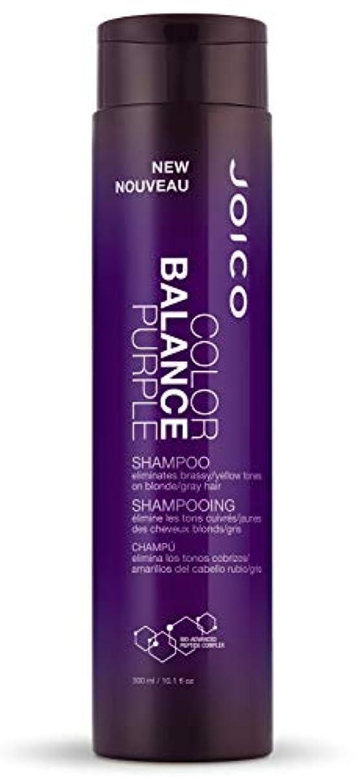 ケーブル用心遠征ジョイコ Color Balance Purple Shampoo (Eliminates Brassy/Yellow Tones on Blonde/Gray Hair) 300ml/10.1oz並行輸入品