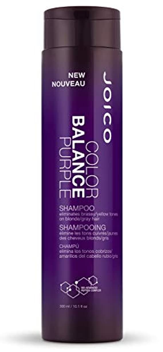 郵便局やるテレマコスジョイコ Color Balance Purple Shampoo (Eliminates Brassy/Yellow Tones on Blonde/Gray Hair) 300ml/10.1oz並行輸入品