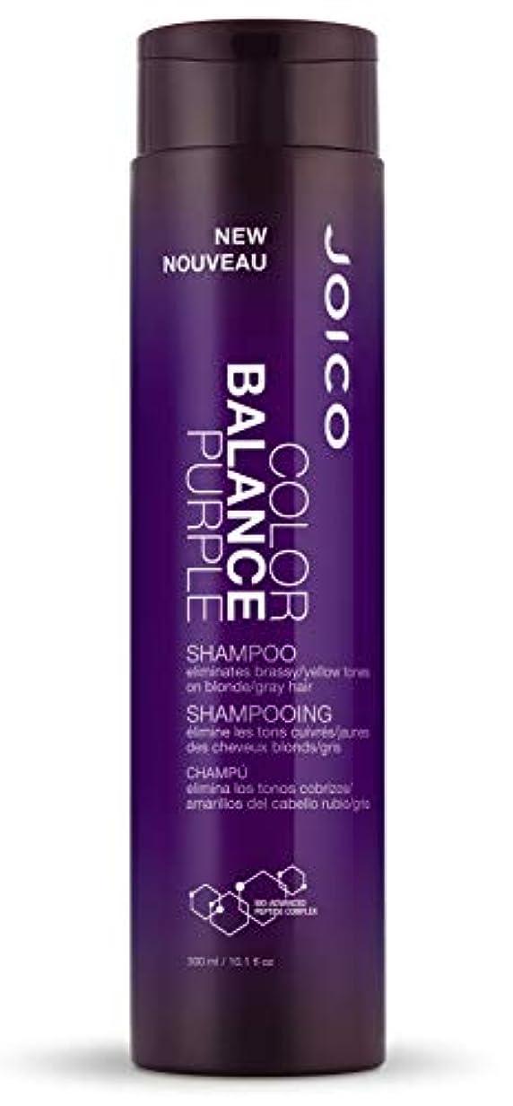 路地嘆く起きているジョイコ Color Balance Purple Shampoo (Eliminates Brassy/Yellow Tones on Blonde/Gray Hair) 300ml/10.1oz並行輸入品