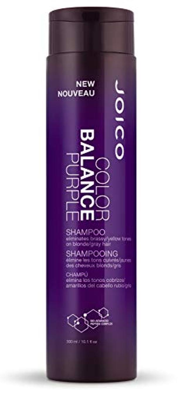 熱心ラブ境界ジョイコ Color Balance Purple Shampoo (Eliminates Brassy/Yellow Tones on Blonde/Gray Hair) 300ml/10.1oz並行輸入品