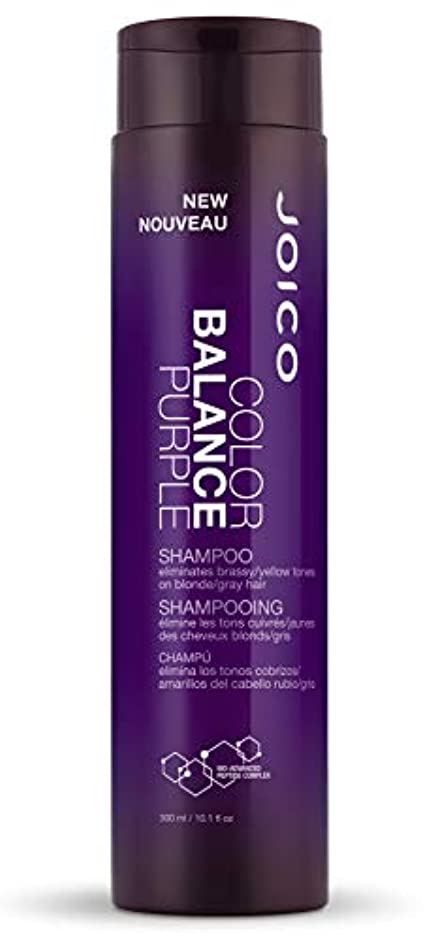 ジョイコ Color Balance Purple Shampoo (Eliminates Brassy/Yellow Tones on Blonde/Gray Hair) 300ml/10.1oz並行輸入品