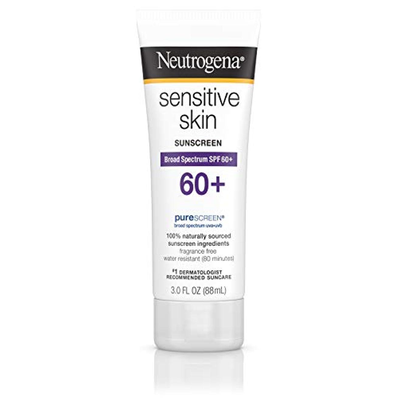 めまいがペースフォージNeutrogena 敏感肌日焼け止めローションSPF 60 + 3オズ