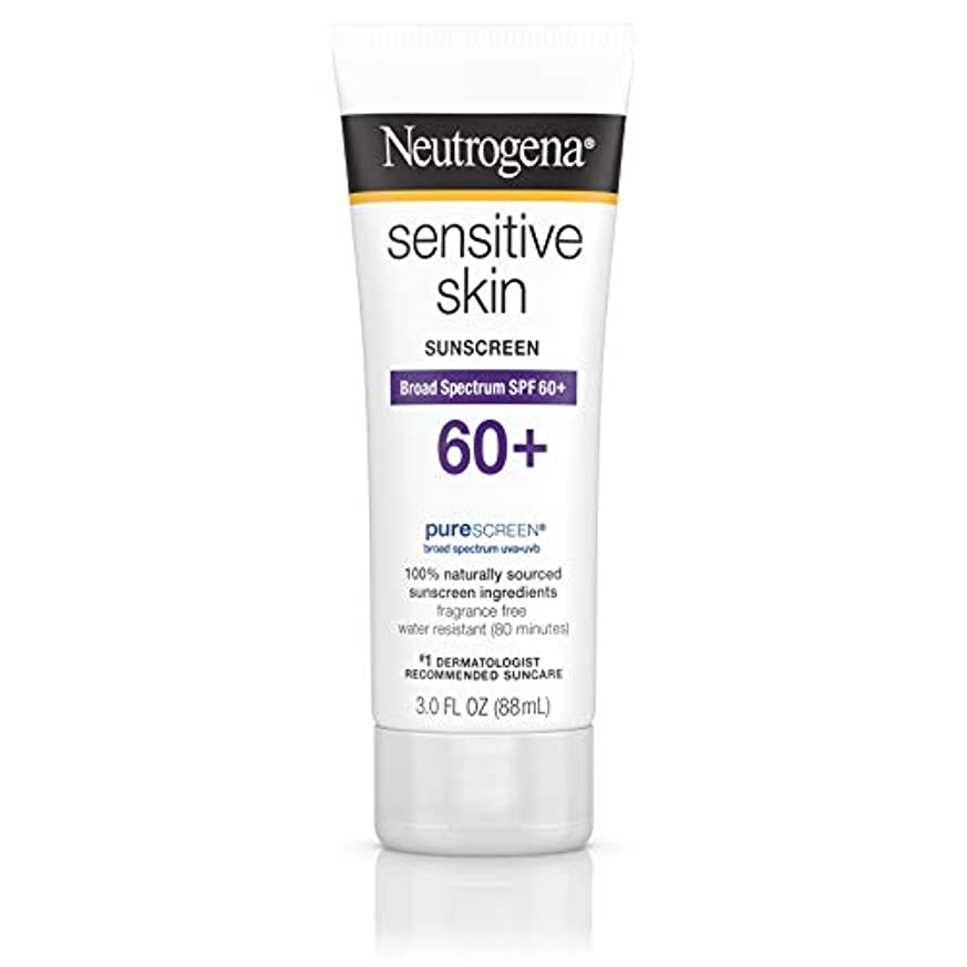キャンペーンナンセンスポジションNeutrogena 敏感肌日焼け止めローションSPF 60 + 3オズ