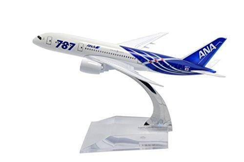 TANG DYNASTY 1/400 16cm 全日空 ANA ボーイング B787 高品質合金飛行機プレーン模型 おもちゃ