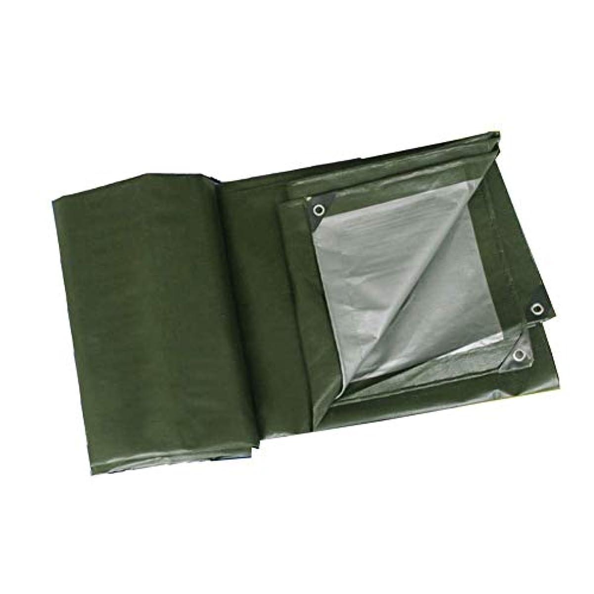 木曜日の配列ミシンZX タープ ターポリン大胆なレインプルーフ防風布簡単折るマルチサイズ テント アウトドア (Color : Green, Size : 9.8x11.7m)