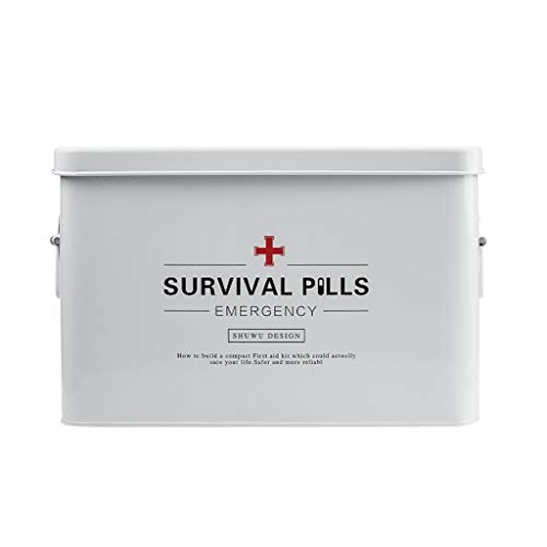 絶滅させる素朴なイベントYYFRB 薬箱、多層大容量救急箱、薬保管箱 医学パッケージ (Size : 22cm×16cm)
