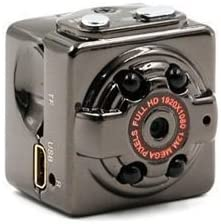 SQ8 超小型カメラ 高解像度1280*720p&1920*1080p可選択 暗視機能 動体検知機能あり