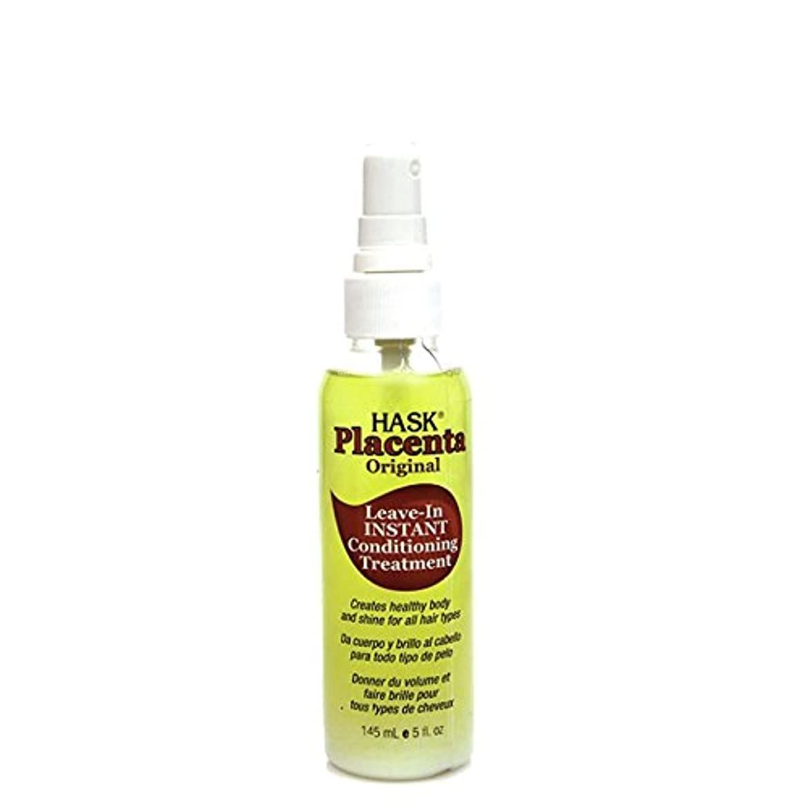 幻想的インターネット科学者HASK Original Placenta Leave-In Instant Conditioning Treatment, 5 oz (並行輸入品)