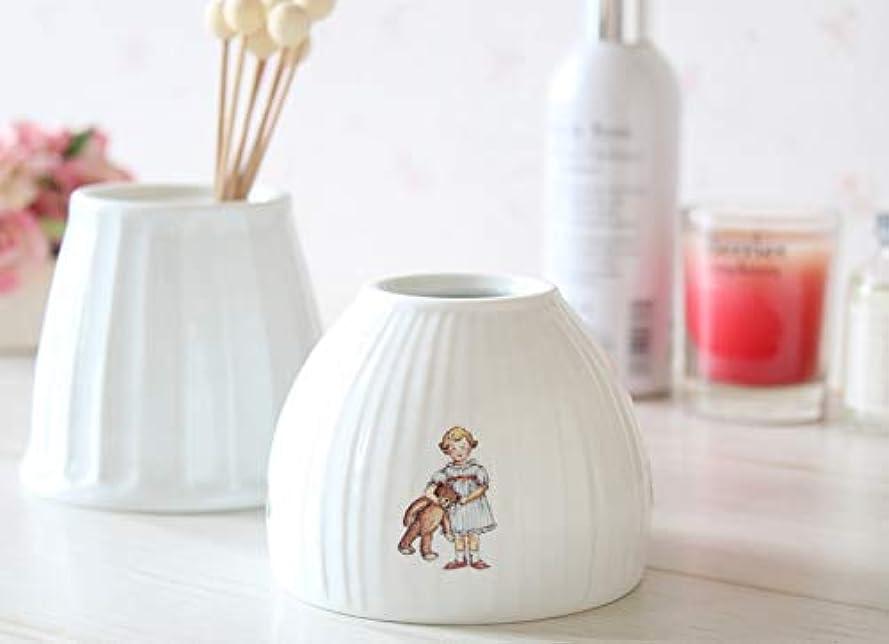 美人こどもの日世界記録のギネスブックマニー プチメゾン 陶器 ジュポン型アロマカバー