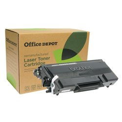 Office Depot odtn650( Brother tn-650)リサイクル品大容量ブラックトナーカートリッジ、odtn650