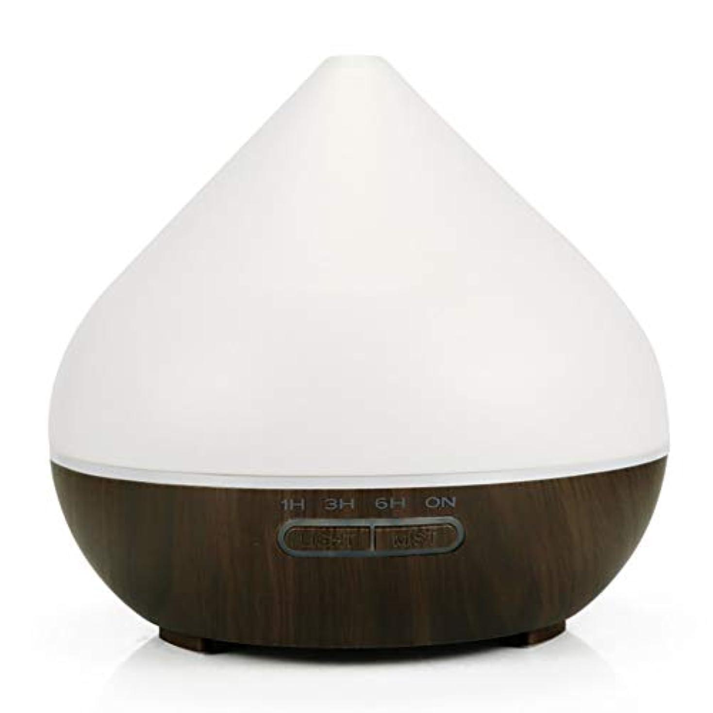 回路配置鋭く超音波アロマセラピー香りの良い加湿器、300mlアロマセラピーエッセンシャルオイルディフューザー、寝室用の7つのLEDライトカラー、ホーム、オフィス,darkbase