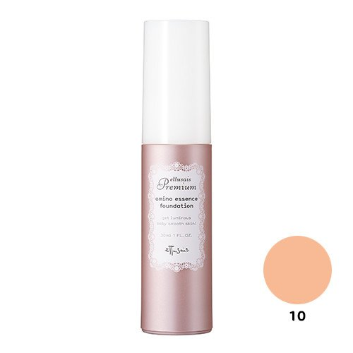エテュセ プレミアム アミノエッセンス ファンデーション 10(明るい肌色) SPF25・PA++ 30ml