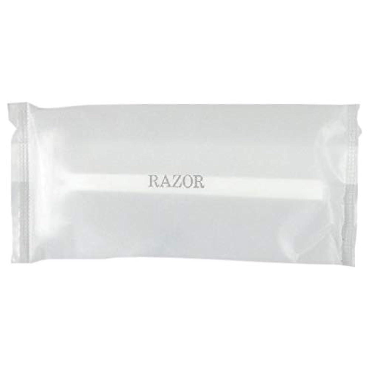 枕に向かって市場カミソリ2枚刃 フェザーシティエース-4 マットOPP袋 500入