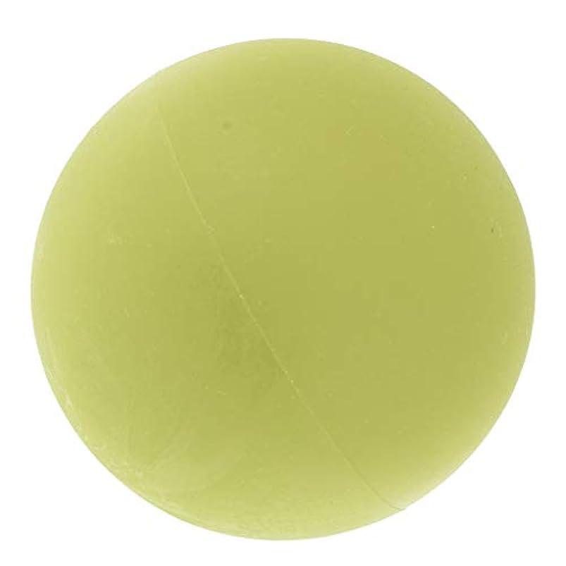 民兵ひどい不適切なP Prettyia マッサージボール トリガーポイント 筋膜リリース トレーニング ヨガ ツボ押しグッズ 全4色 - 緑