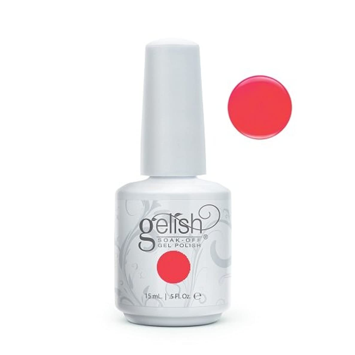 トランスミッションピザシャークHarmony Gelish Gel Polish - Manga-Round With Me - 0.5oz / 15ml