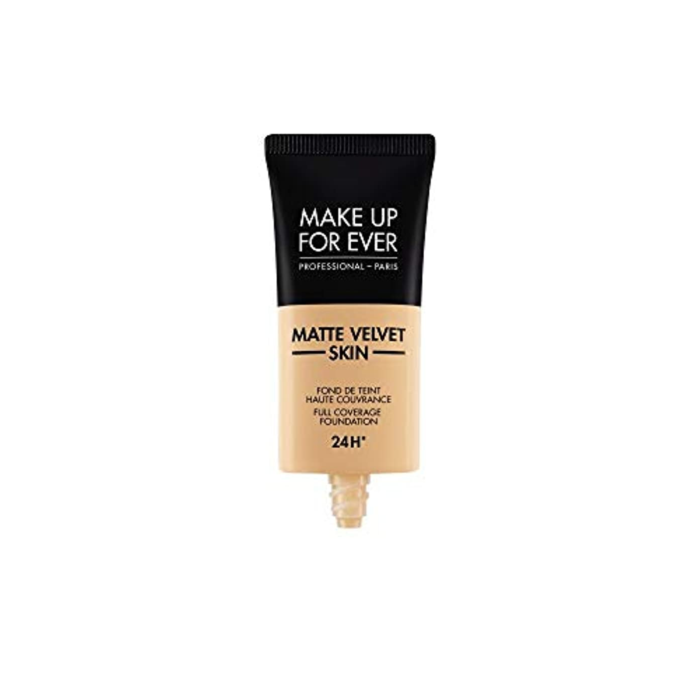 州試してみる整理するメイクアップフォーエバー Matte Velvet Skin Full Coverage Foundation - # Y335 (Dark Sand) 30ml/1oz並行輸入品