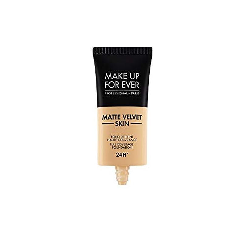 札入れカリング鰐メイクアップフォーエバー Matte Velvet Skin Full Coverage Foundation - # Y335 (Dark Sand) 30ml/1oz並行輸入品