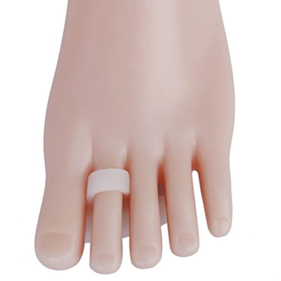 調べるサイトペデスタルROSENICE ソフトゲルシリコーン製 ブレース 足指セパレーター 痛み軽減 つま先矯正 1ペア