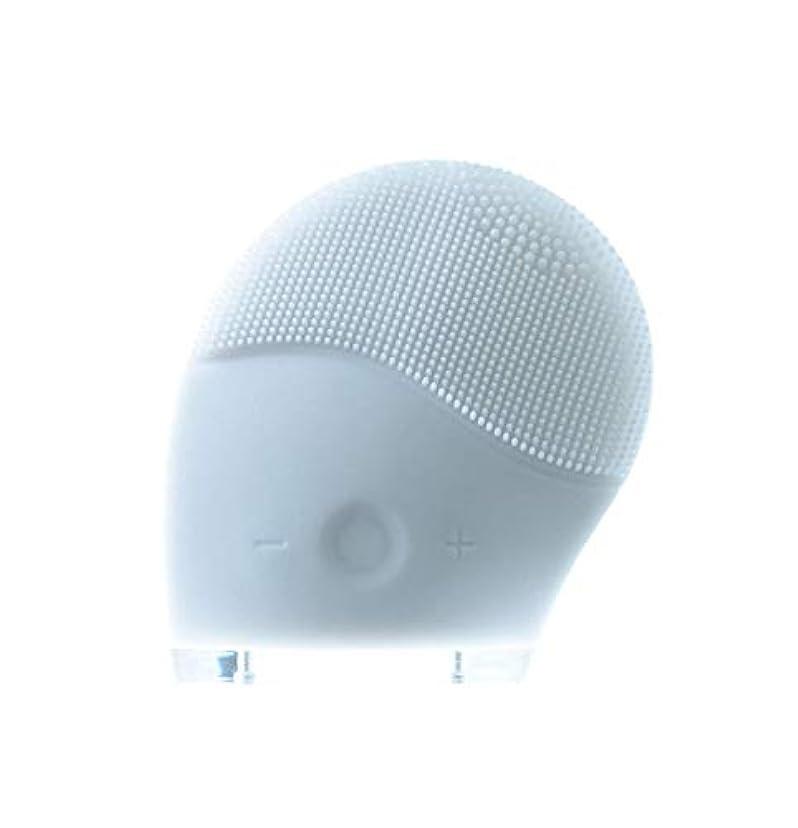 力強いエンジニアドットお風呂で美顔 洗顔 シリコンフェイスケア SCULD スクルド HC-141 ホワイト