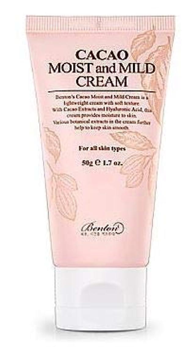 ネーピア四半期。[Benton] Cacao Moist and Mild Cream 50g / [ベントン] カカオモイスト & マイルドクリーム 50g [並行輸入品]