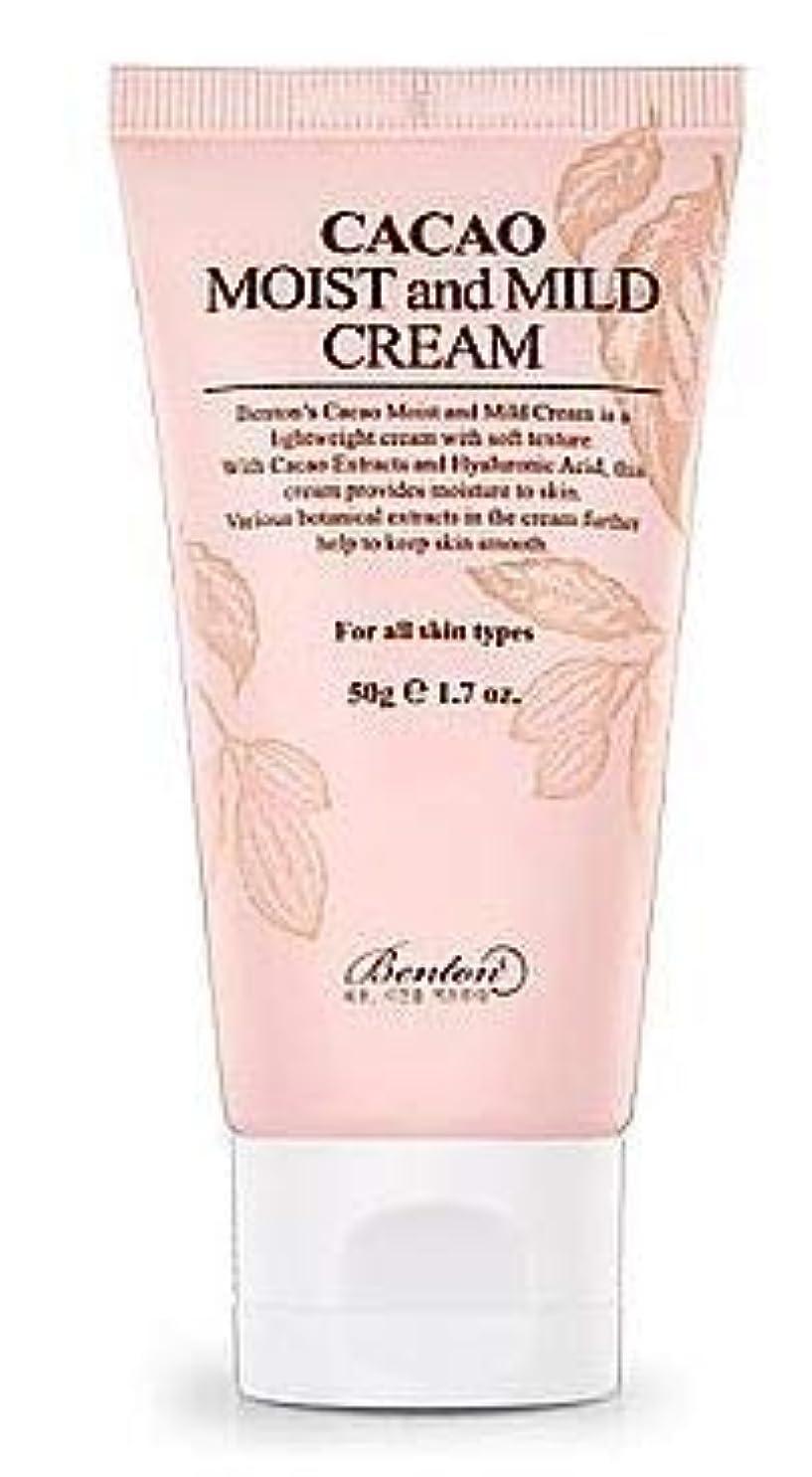 配分付添人壮大[Benton] Cacao Moist and Mild Cream 50g / [ベントン] カカオモイスト & マイルドクリーム 50g [並行輸入品]