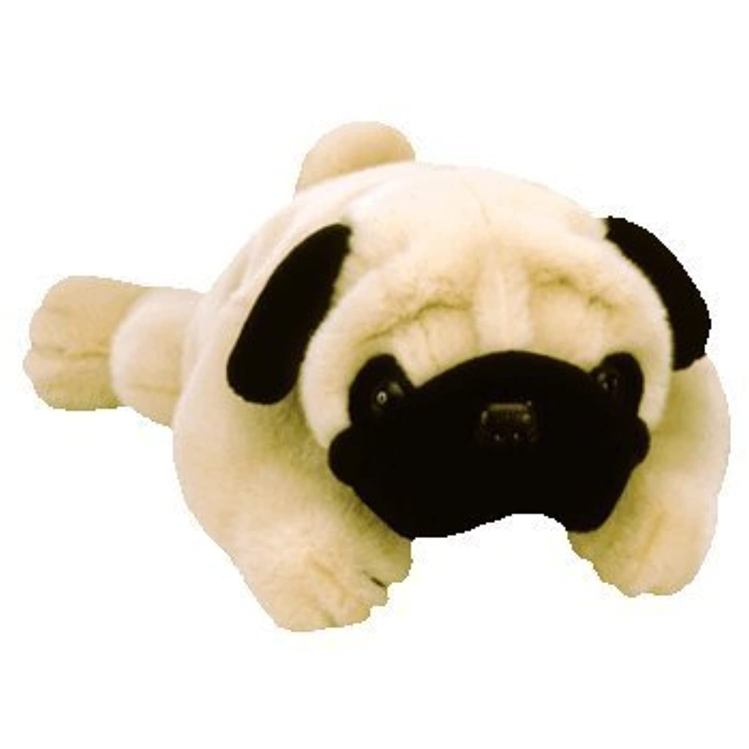 TY Pugsly the Pug Dog Beanie Buddy 12 [Toy] [並行輸入品]
