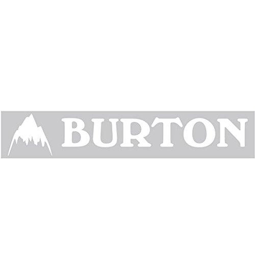 BURTON バートン 【Logo Sticker 約5.5cm×約27cm】 White ス・・・