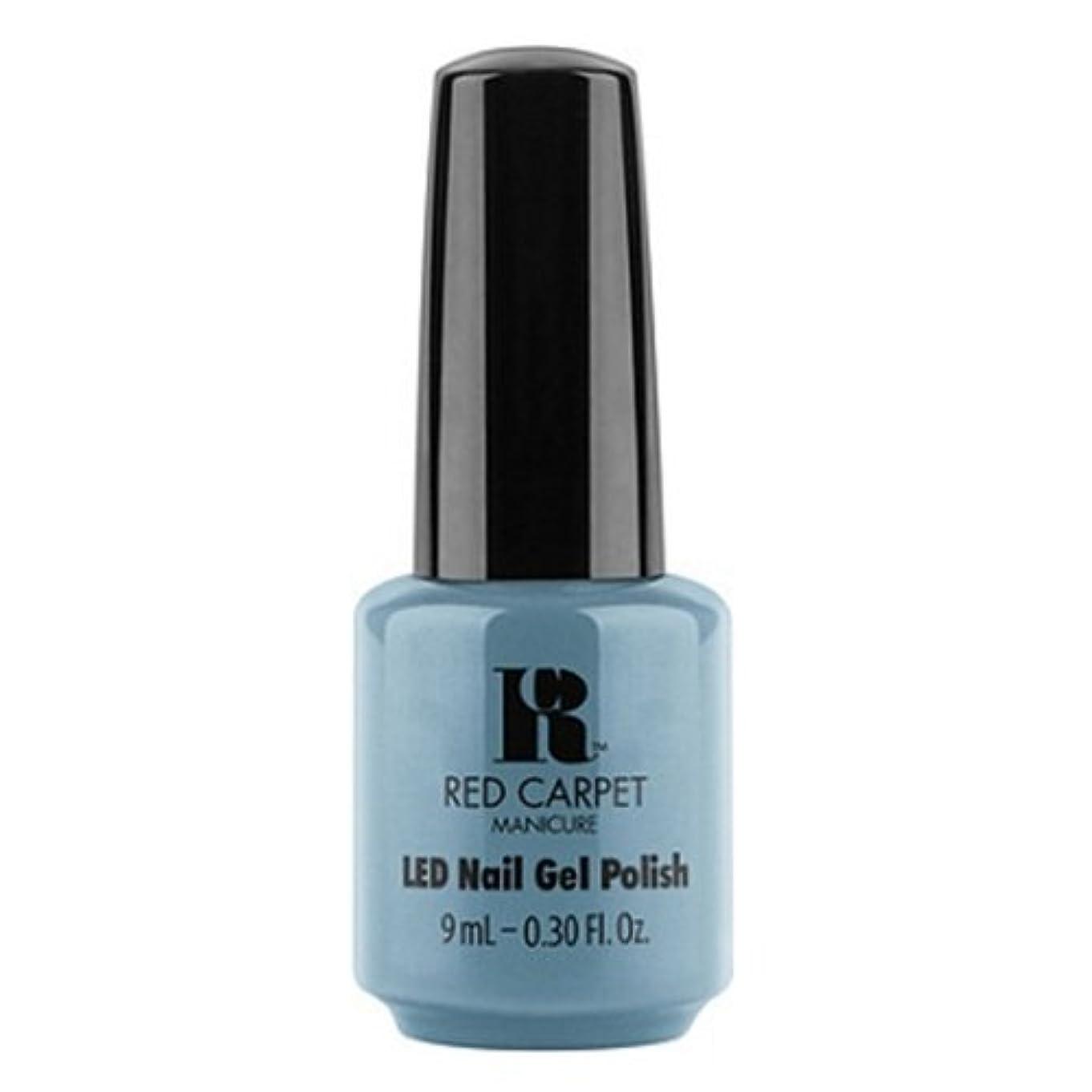 コントロールインターネット同等のRed Carpet Manicure - LED Nail Gel Polish - Dress Rehearsal - 0.3oz / 9ml