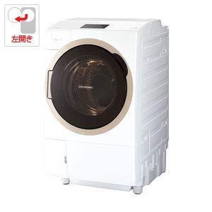 東芝 12.0kg ドラム式洗濯乾燥機【左開き】グランホワイトTOSHIBA TW-127X7L-W