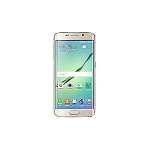 【 au 】 Galaxy S6 edge SCV31 32GB Gold Platinum