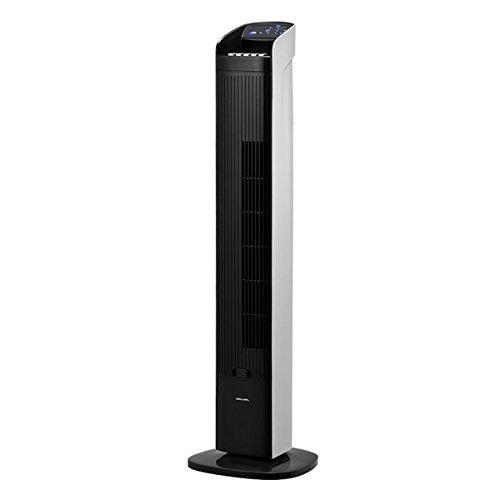 タワーファン(サーキュレーター) 3段階風量調節/アロマオイル対応【APIX(アピックス)】ブラック×ホワイト AFT-960R-BK 家電 季節家電(冷暖房 空調) 扇風機 サーキュレーター [並行輸入品]