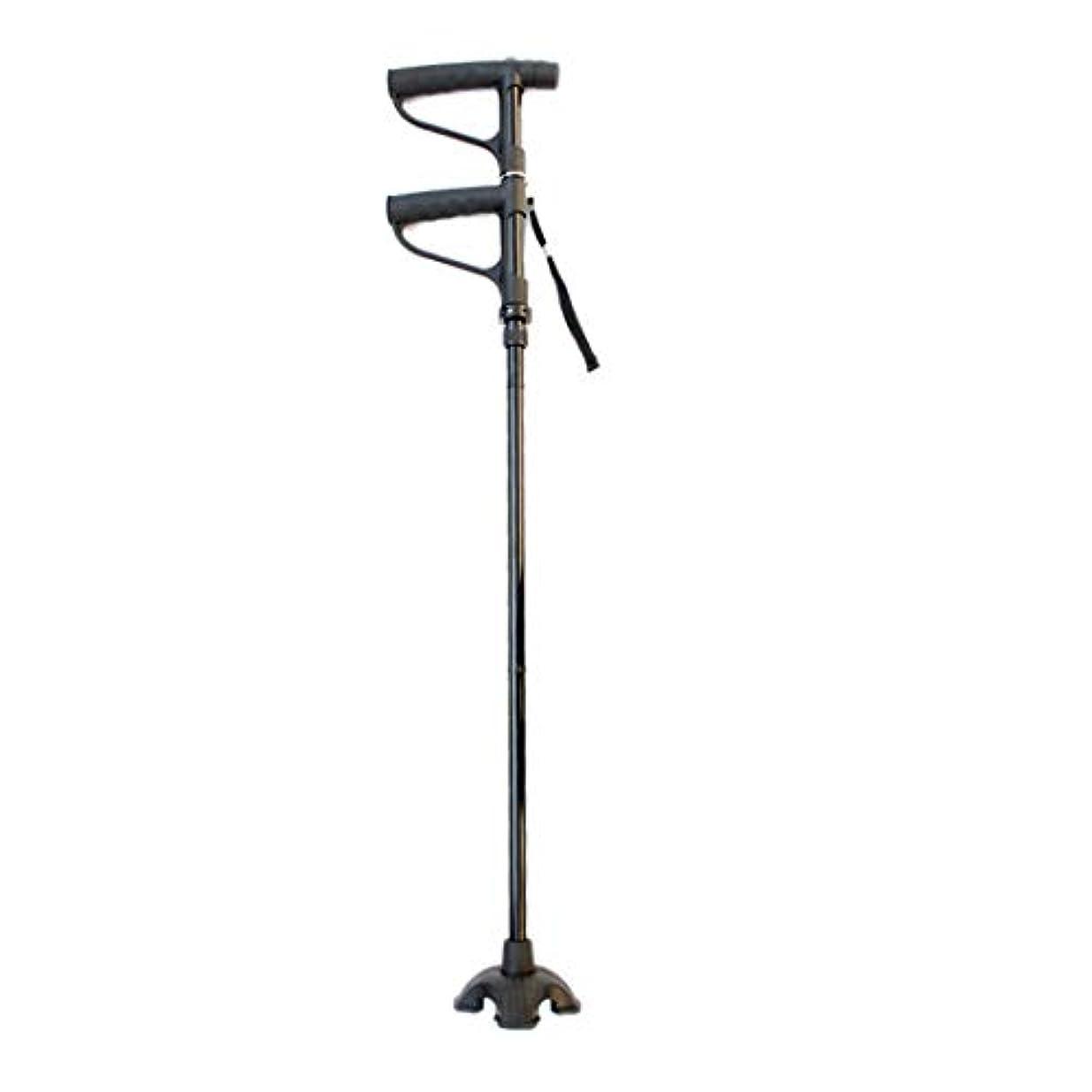 ブルームポール誠実さ折りたたみ式松葉杖高さ調節可能な歩行松葉杖高齢者に適した前腕補助杖