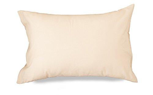 エムール 【日本製】 綿100% ピロケース 枕カバー 約43×63cm 「プレッソ」 ベージュ