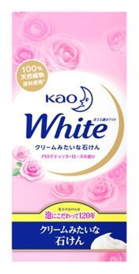 いちゃつくかみそり仲介者花王ホワイト石鹸 アロマティックローズの香り KWA-6