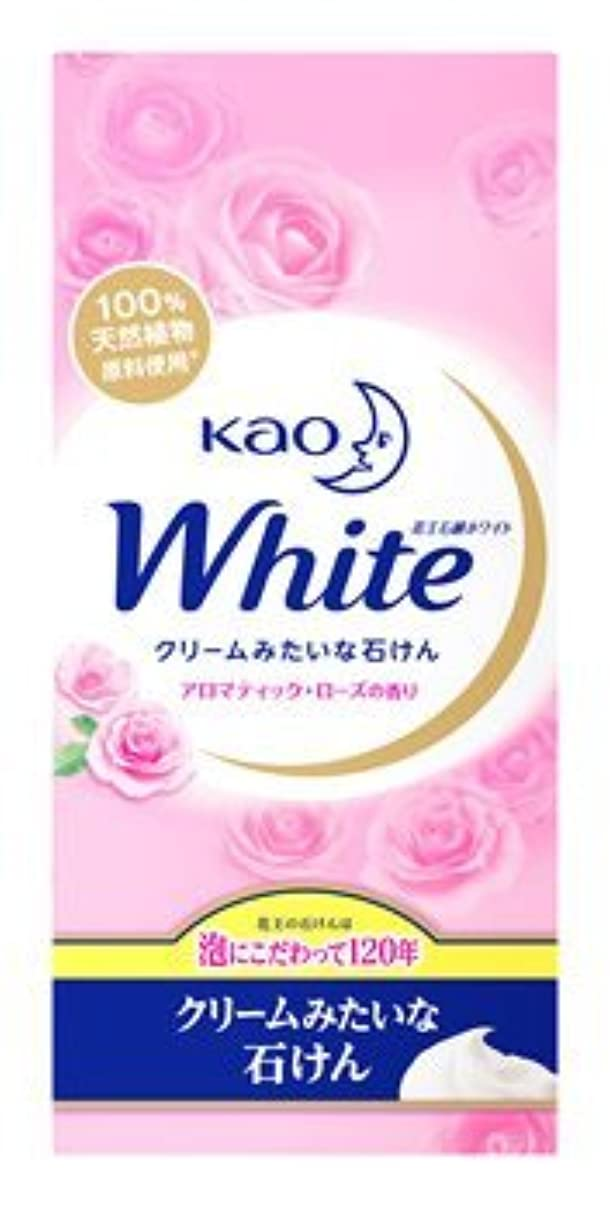群集強制堀花王ホワイト石鹸 アロマティックローズの香り KWA-6 Japan