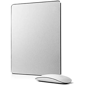 LOE アルミニウム マウスパッド Aluminum Mouse Pad 光学式マウス 対応 240mm x 180mm (Small)