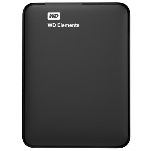 WD HDD ポータブルハードディスク 3TB WD Elements Portable WDBU6Y0030BBK-EESN USB3.0/3年保証