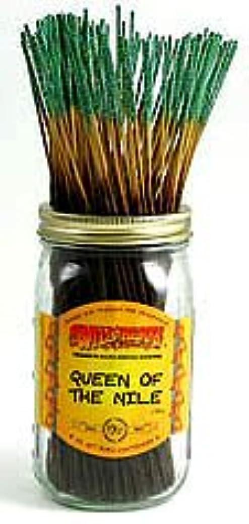 閃光日帰り旅行に遅いQueen of the Nile – 100ワイルドベリーIncense Sticks
