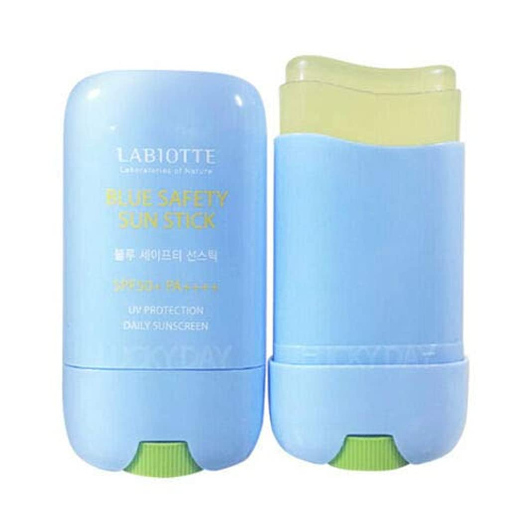 大気申し込む肝LABIOTTE ラビオッテ ブルーセーフティーサンスティック 25g SPF50+ PA++++ Blue Safety Sun Stick 韓国日焼け止め