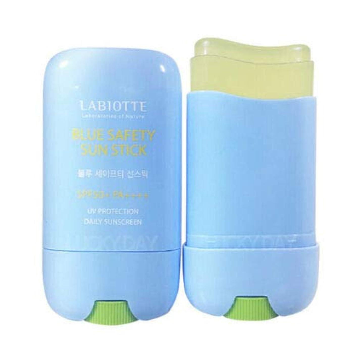 ワイン現象用心深いLABIOTTE ラビオッテ ブルーセーフティーサンスティック 25g SPF50+ PA++++ Blue Safety Sun Stick 韓国日焼け止め
