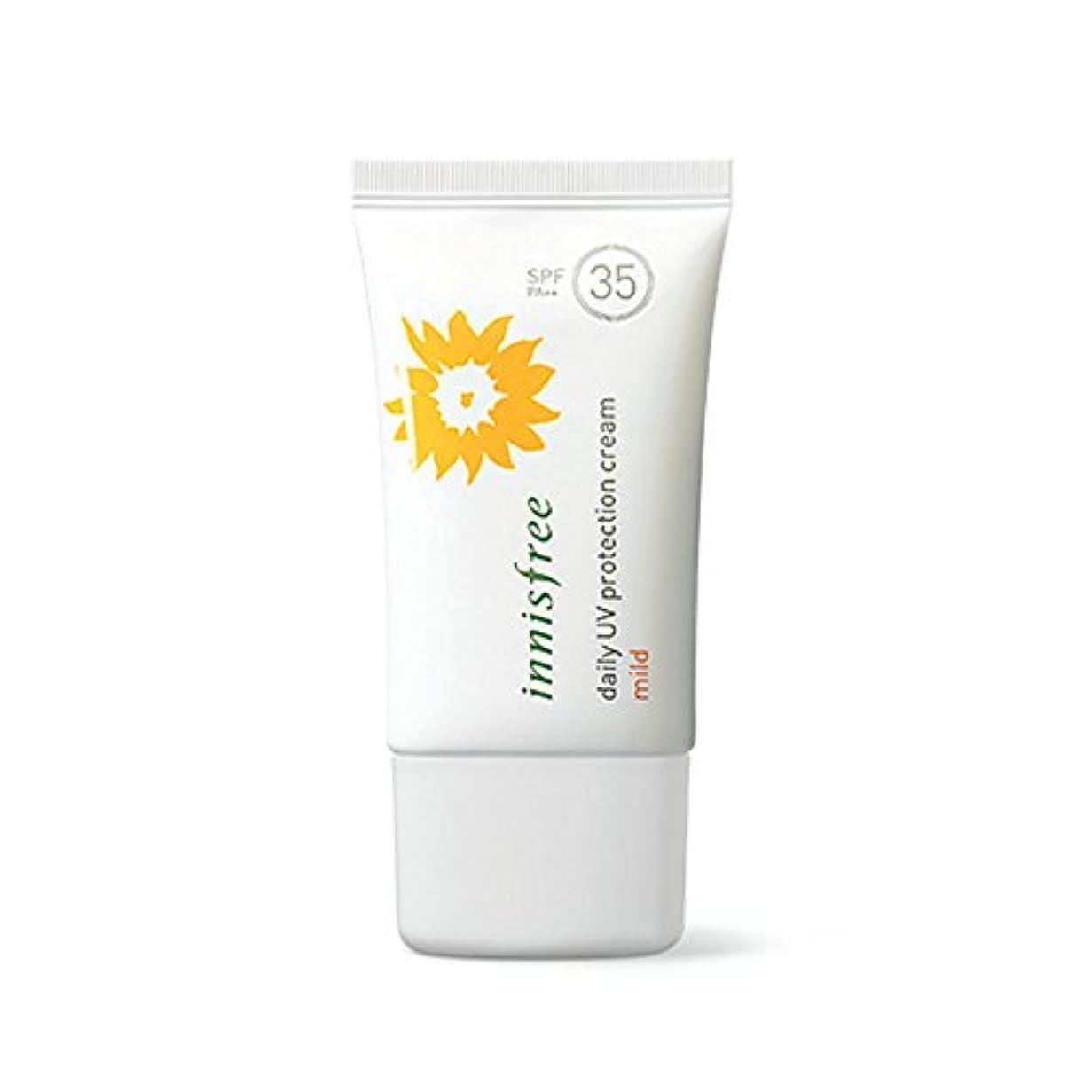場所テザー固体イニスフリーデイリーUVプロテクションクリーム50mlマイルドSPF35 + PA ++ Innisfree Daily UV Protection Cream 50ml Mild SPF35+ PA++ [海外直送品]...