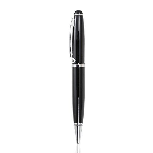 QZT ボールペン型 ICボイスレコーダー 8GB 240時間録音 高音質 小型軽量 USBで充電可能[並行輸入品]