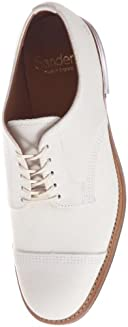 Military Derby Shoe 8803: White Suede