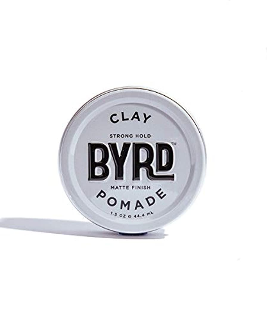 拍手する配当予報BYRD/クレイポマード 42g メンズコスメ ワックス ヘアスタイリング かっこいい モテ髪