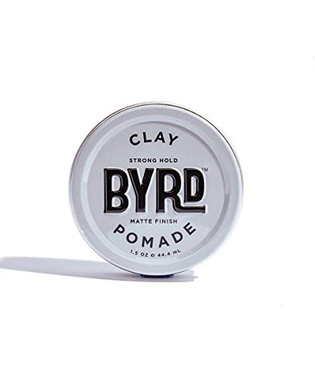 忘れる一部メンダシティBYRD/クレイポマード 42g メンズコスメ ワックス ヘアスタイリング かっこいい モテ髪