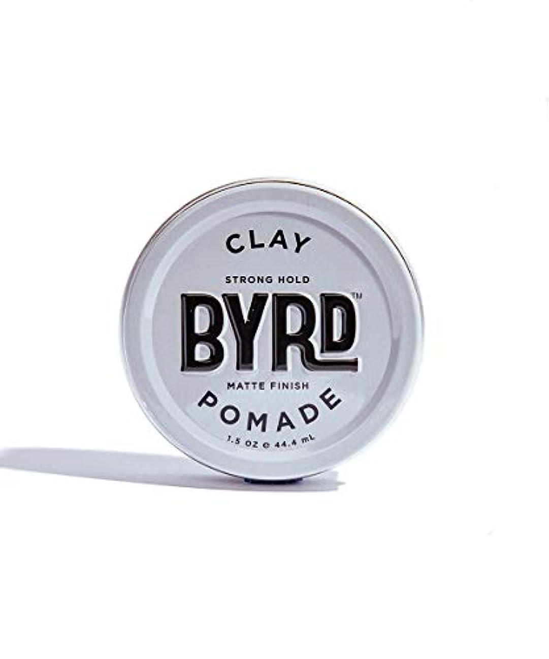 息苦しい滑り台爆弾BYRD/クレイポマード 42g メンズコスメ ワックス ヘアスタイリング かっこいい モテ髪