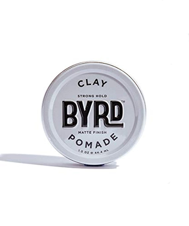 インストール恋人コンクリートBYRD/クレイポマード 42g メンズコスメ ワックス ヘアスタイリング かっこいい モテ髪