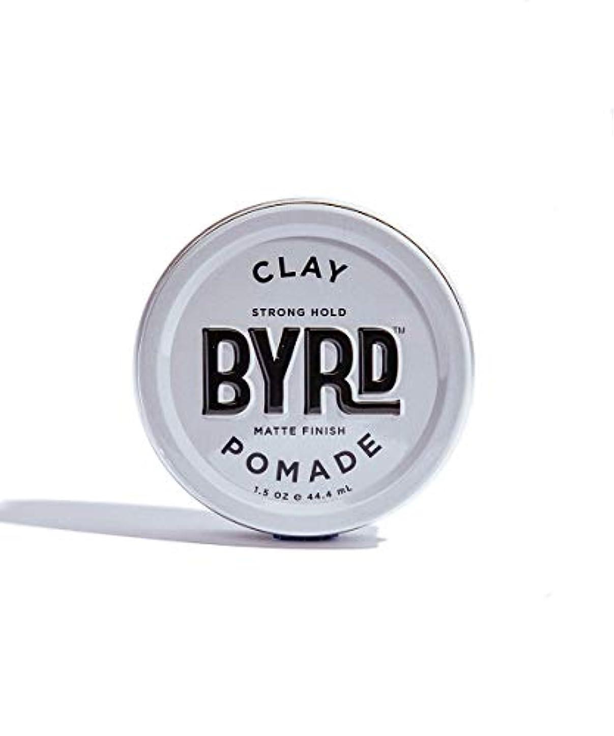憲法火傷逆にBYRD/クレイポマード 42g メンズコスメ ワックス ヘアスタイリング かっこいい モテ髪