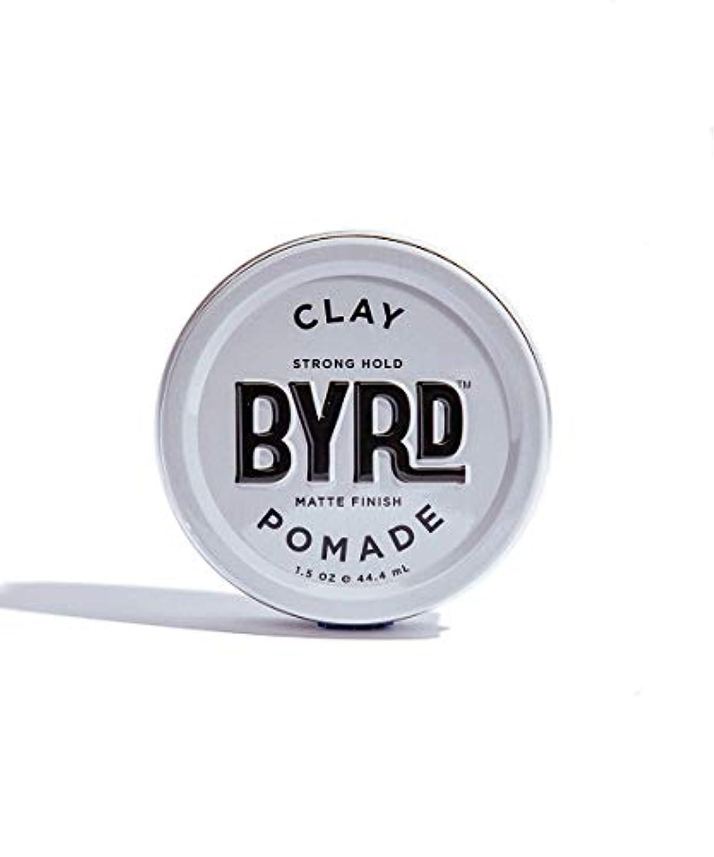 セットする理容室等しいBYRD/クレイポマード 42g メンズコスメ ワックス ヘアスタイリング かっこいい モテ髪